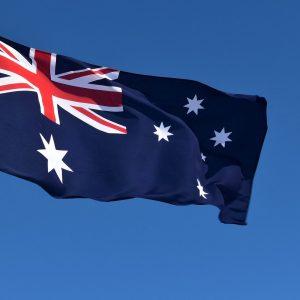 Australian flags